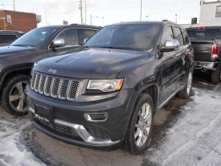 Used 2015 Jeep Grand Cherokee Summit NAVI/PANORAMIC SUNROOF/AIR RIDE SUSPENSION for sale in Concord, ON