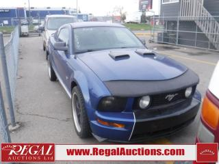 Used 2007 Ford MUSTANG GT 2D COUPE RWD for sale in Calgary, AB