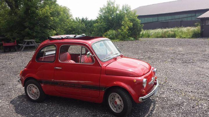 Photo of Red 1975 Fiat 500 ABARTH 595 TRIBUTE