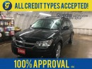 Used 2009 Dodge Journey R/T*7 PASSENGER*NAVIGATION*POWER SUNROOF*BACK UP CAMERA*LEATHER*U CONNECT PHONE*3 WAY CLIMATE CONTROL*ALLOYS*POWE WINDOWS/LOCKS/HEATED MIRRORS*INFINITY AUDIO*CRUISE CONTROL*ROOF RACK*FOG LIGHTS*HEATED FRONT SEATS*AM/FM/XM/CD/AUX/USB/DVD/BLUETOOTH* for sale in Cambridge, ON