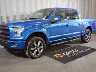 Used 2015 Ford F-150 Lariat 4x4 SuperCrew Cab 5.5 ft. box 145 in. WB for sale in Red Deer, AB