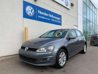 Used 2015 Volkswagen Golf COMFORTLINE W/ CONVENIENCE PKG - LEATHER / HEATED SEATS for sale in Edmonton, AB