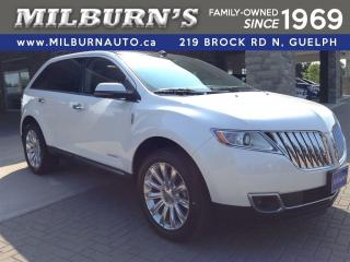 Used 2013 Lincoln MKX AWD Nav./Leather/Pano Roof for sale in Guelph, ON