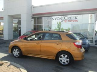 Used 2009 Toyota Matrix AWD for sale in Calgary, AB