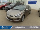 Used 2016 Hyundai Elantra Bluetooth/Heated Seats/Satellite Radio for sale in Edmonton, AB