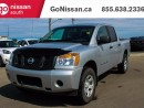 Used 2015 Nissan Titan S 4x4 Crew Cab SWB for sale in Edmonton, AB