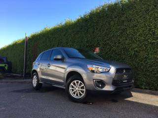 Used 2015 Mitsubishi RVR SE 4X4 + HEATED FT SEATS + BLUETOOTH + ALLOYS + NO EXTRA DEALER FEES for sale in Surrey, BC