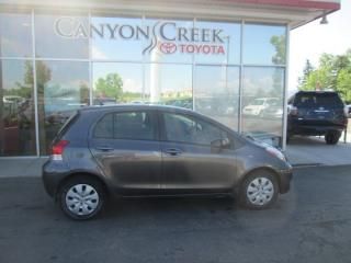 Used 2010 Toyota Yaris LE for sale in Calgary, AB