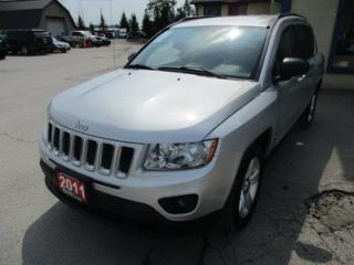 Used 2011 Jeep Compass POWER EQUIPPED NORTH EDITION 5 PASSENGER 2.4L - DOHC.. 4WD.. HEATED SEATS.. CD/AUX INPUT.. KEYLESS ENTRY.. for sale in Bradford, ON
