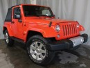 Used 2015 Jeep Wrangler Sahara 2dr 4x4 / GPS NAVIGATION / HEATED FRONT SEATS for sale in Edmonton, AB
