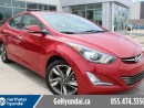 Used 2016 Hyundai Elantra Leather Sunroof Navigation for sale in Edmonton, AB