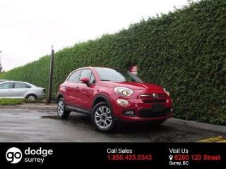 Used 2016 Fiat 500X SPORT AWD + BLUETOOTH + A/C + CRUISE CONTROL + FOG LAMPS + ALLOYS + DYNAMIC CONTROL SELECTOR + NO EXTRA FEES + FREE LIFETIME ENGINE WARRANTY for sale in Surrey, BC