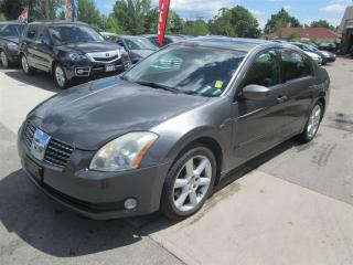 Used 2004 Nissan Maxima SE w/5 Seat for sale in Scarborough, ON