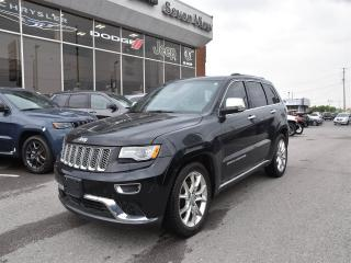 Used 2015 Jeep Grand Cherokee Summit DIESEL/NAVI/DUAL-PANE SUNROOF for sale in Concord, ON