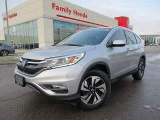 Used 2015 Honda CR-V AWD 5dr Touring | LOW KMS!  | BACKUP CAM | LTHR for sale in Brampton, ON