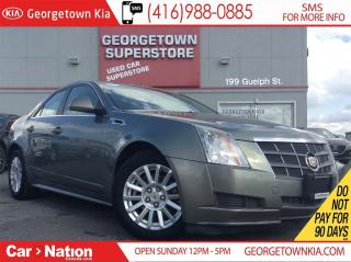 Used 2011 Cadillac CTS 3.0L V6 LEATHER| ROOF| ALLOY WHEELS| HEATED SEATS for sale in Georgetown, ON