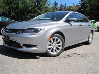 Used 2015 Chrysler 200 C / LEATHER / PANO ROOF for sale in Bradford, ON