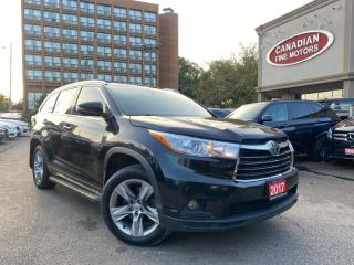 Used 2015 Toyota Highlander HYBRID HYBRID | LIMITED PKG | NAVI |  CAM | ROOF | LEATHER | 7 PASS for sale in Scarborough, ON