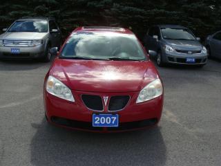 Used 2007 Pontiac G6 SEDAN for sale in Bloomfield, ON