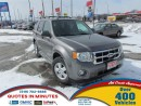 Used 2010 Ford Escape XLT | CLEAN | 4X4 | MUST SEE for sale in London, ON