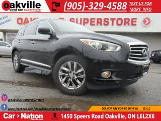 Used 2013 Infiniti JX35 | AWD | DUAL DVD| NAVI | SUNROOF| for sale in Oakville, ON