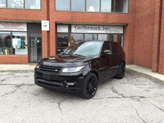 Used 2015 Land Rover Range Rover Sport SuperCharged Dynamic for sale in Woodbridge, ON