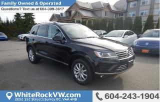 New 2015 Volkswagen Touareg 3.0 TDI Sportline for sale in Surrey, BC