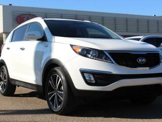 Used 2016 Kia Sportage SX 2.0T, HEATED SEATS, BACKUP CAM, BLUETOOTH, CRUISE CONTROL, USB / AUX for sale in Edmonton, AB