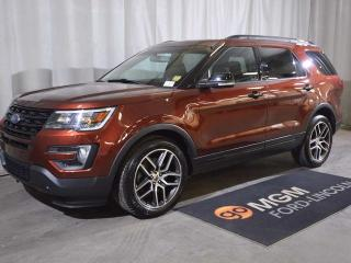 Used 2016 Ford Explorer SPORT for sale in Red Deer, AB