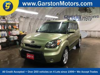 Used 2011 Kia Soul 4U*SUNROOF*KEYLESS ENTRY*POWER WINDOWS/LOCKS/MIRRORS*AM/FM/XM/CD/AUX/USB*PHONE CONNECT*CLIMATE CONTROL*CRUISE CONTROL*HEATED FRONT SEATS*COLOUR CHANGING SPEAKERS*FOG LIGHTS*ALLOYS* for sale in Cambridge, ON