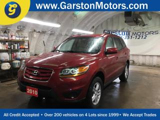 Used 2010 Hyundai Santa Fe KEYLESS ENTRY*POWER WINDOWS/LOCKS/MIRRORS*ALLOYS*PHONE CONNECT*AM/FM/XM/CD/AUX/USB/BLUETOOTH*CLIMATE CONTROL*CRUISE CONTROL*TRACTION CONTROL*ROOF RAILS* for sale in Cambridge, ON