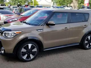 Used 2016 Kia Soul URBAN EDITION; BLUETOOTH, BACKUP CAM, HEATED SEATS, LEATHER, SUNROOF AND MORE for sale in Edmonton, AB