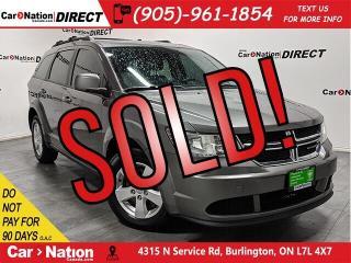 Used 2013 Dodge Journey SE Plus| LOCAL TRADE| BACK UP CAMERA| for sale in Burlington, ON