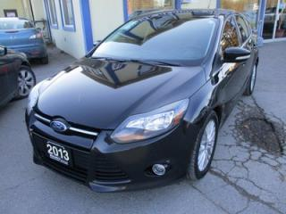 Used 2013 Ford Focus LOADED TITANIUM MODEL 5 PASSENGER 2.0L - DOHC.. LEATHER.. HEATED SEATS.. SUNROOF.. NAVIGATION.. BLUETOOTH SYSTEM.. for sale in Bradford, ON