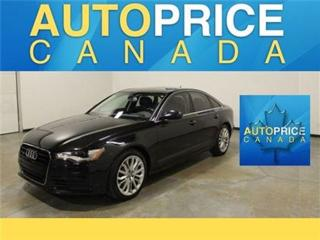 Used 2012 Audi A6 3.0T PRISTEGE PKG NAVIGATION REAR CAM for sale in Mississauga, ON