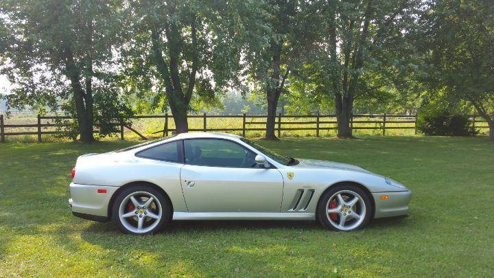 Photo of Silver 1997 Ferrari 550 Maranello