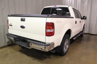 Used 2007 Ford F-150 Lariat Super Crew 4X4 5.4L Leather Moonroof for sale in Vegreville, AB