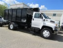 Used 2007 GMC C7500 diesel new stellar hook lift system for sale in Richmond Hill, ON