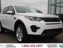 Used 2016 Land Rover Discovery Sport SE - CPO 6yr/160000kms manufacturer warranty included until May 1, 2022! CPO rates starting from 2.9%! LOCALLY OWNED AND DRIVEN   NO ACCIDENTS   3M PROTECTION APPLIED   NAVIGATION   POWER SEATS   LEATHER STEERING WHEEL   ALLOY WHEELS   BLUETOOTH   S for sale in Edmonton, AB