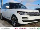 Used 2016 Land Rover Range Rover 5.0 Supercharged Autobiography - CPO 6yr/160000kms manufacturer warranty included until May 1, 2022! CPO rates starting at 2.9%! Local One Owner Trade In | No Accidents | 3M Protection Applied | Power Running Boards | Rear Seat Entertainment | Park Assist for sale in Edmonton, AB