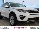 Used 2016 Land Rover Discovery Sport HSE - CPO 6yr/160000kms manufacturer warranty included until October 30, 2022! CPO rates starting at 2.9%! LOCALLY OWNED AND DRIVEN   NO ACCIDENTS   EXECUTIVE DEMO   3M PROTECTION ALREADY APPLIED   PARK ASSIST   TOUCH SCREEN   BACK UP CAMERA   PARKI for sale in Edmonton, AB