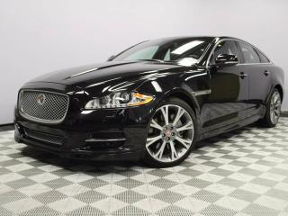 Used 2015 Jaguar XJ 3.0 AWD Sport - CPO 6yr/160000kms manufacturer warranty included until September 29, 2021! CPO rates starting at 1.9%! Local One Owner Leaseback | No Accidents | Bluetooth | Memory Seats | Adaptive Cruise Control | Suede Headliner | Navigation | Heated/Co for sale in Edmonton, AB