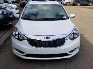 Used 2016 Kia Forte LX; BLUETOOTH, HEATED SEATS, CRUISE CONTROL, A/C AND MORE for sale in Edmonton, AB