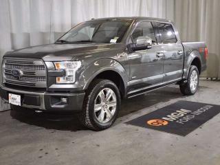 Used 2015 Ford F-150 PLATINUM for sale in Red Deer, AB