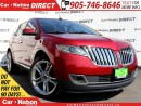 Used 2013 Lincoln MKX | LEATHER| PANO ROOF| NAVI| AWD| for sale in Burlington, ON