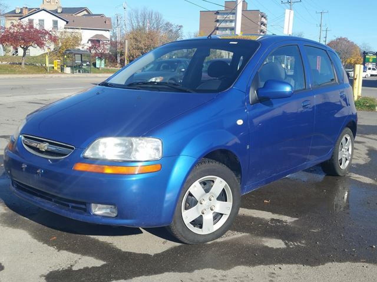 Photo of Blue 2008 Chevrolet Aveo