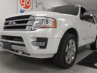 Used 2016 Ford Expedition Platinum Loaded! DVD's, NAV, heated/cooled power leather seats, sunroof, power liftgate for sale in Edmonton, AB