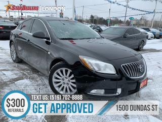 Used 2011 Buick Regal CXL Turbo   LEATHER   ROOF   HEATED SEATS for sale in London, ON