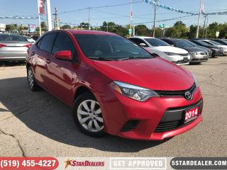 Used 2014 Toyota Corolla LE | CAM | HEATED SEATS for sale in London, ON