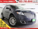 Used 2013 Lincoln MKX | AWD| LEATHER| DUAL DVD| NAVI| for sale in Burlington, ON